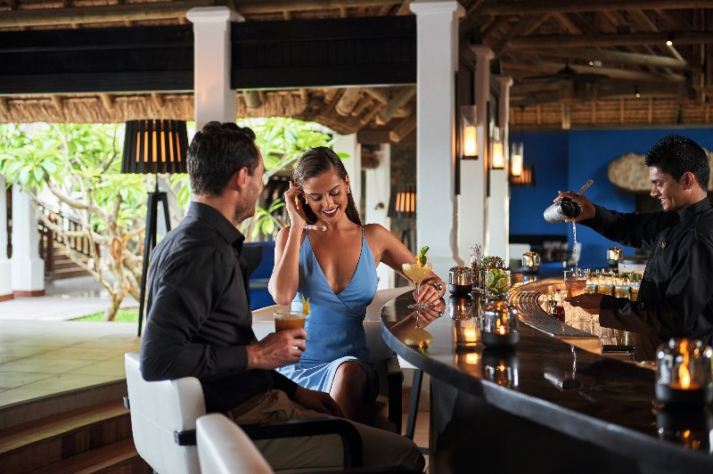 Mauritius  Constance Belle Mare Plage - The Bar