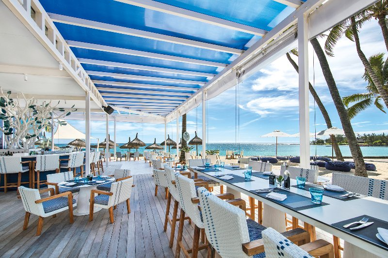 Mauritius  Constance Belle Mare Plage - The Blu Bar